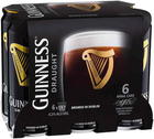 GUINNESS DRAUGHT CAN 440ML 6 pack