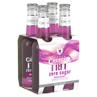 VODKA CRUISER SUGAR FREE MIXED BERRY 4 PACK STUBBIES