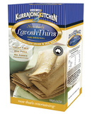 KURRAJONG KITCHEN LAVOSH THINS CARAMELIZED ONION 145 GRAM