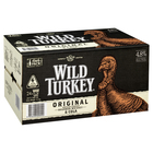WILD TURKEY and COLA 5% 24 x STBS