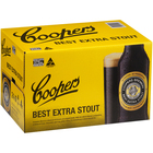 COOPERS STOUT STUBBIES 24 X 375ML CARTON