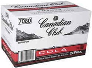 CANADIAN CLUB and COLA 24 X STBS CARTON