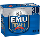 EMU DRAFT CANS 375ML CARTON