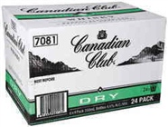 CANADIAN CLUB and DRY 24 X STB 330ML CARTON