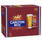 CARLTON MID CANS BLOCK 30 CANS