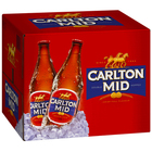 CARLTON MID BOTTLE 750ML CARTON