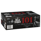 WILD TURKEY 101 CAN 6.5% 375ML carton 24