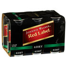 JOHNNIE WALKER RED and DRY 6 PACK CANS 375ML