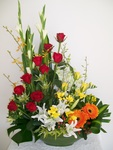 Large flower arrangement ~ Celebration!