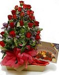 20 Roses with Chocolates