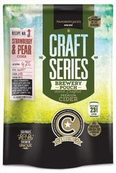 Mangrove Jack's Craft Series - STRAWBERRY and PEAR CIDER - 2.4kg