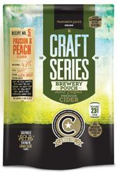 Mangrove Jack's Craft Series - PEACH and PASSIONFRUIT CIDER - 2.4kg