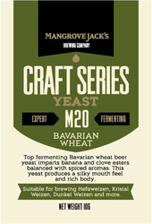 MANGROVE JACK'S M20 BAVARIAN WHEAT - Craft Series Yeast - 10g