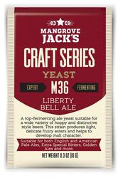 MANGROVE JACK'S M36 LIBERTY BELL ALE - Craft Series Yeast - 10g