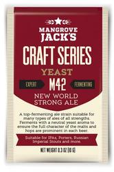 MANGROVE JACK'S M42 NEW WORLD STRONG ALE - Craft Series Yeast - 10g