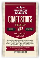 MANGROVE JACK'S M47 BELGIAN ABBEY - Craft Series Yeast - 10g