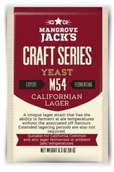 MANGROVE JACK'S M54 CALIFORNIAN LAGER - Craft Series Yeast - 10g