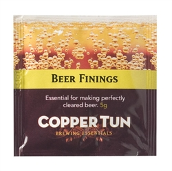 BEER FININGS - 5g (single sachet)