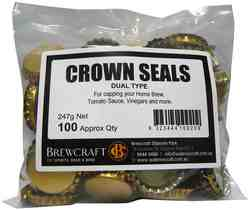 Crown Seal DUO - Packet of 100