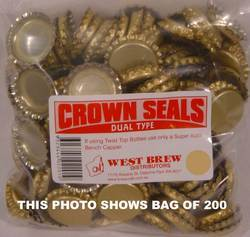 Crown Seal DUO - Packet of 1,000