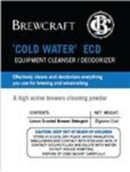 Brewcraft 'cold water' (ECD) Equipment Cleaner / Deodorizer 25g sachet