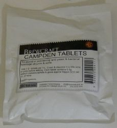 CAMPDEN TABLETS (PKT 100)