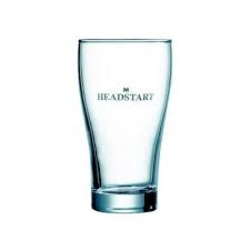 HEADSTART BEER GLASS 425ml