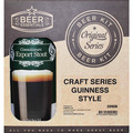 CLASSIC DUBLIN DRY STOUT - Recipe Favourite  - SPECIAL - NORMALLY $67.80 - SAVE $5.00 AND RECEIVE 2 FREE HEADSTART GLASSES PER PACK VALUED AT $9.90.