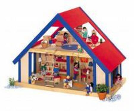 Selecta Doll S House Role Play Doll S Houses Toys Perth