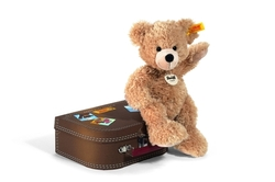 Steiff Teddy Bear Fynn in a Suitcase