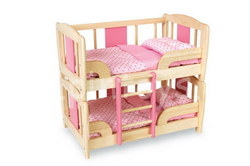 Pintoy Dolls Bunk Bed