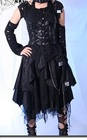 PUNK RAVE - Visual K CYBER GOTHIC STEAMPUNK SKIRT LAYER