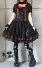 PUNK RAVE - LOVELY GOTHIC LACE FRILL DRESS