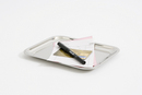 Stainless steel change tray