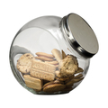 Glass Cookie Jar 4.2 Litre, Screw Top Lid, 110mm Opening - 4 per box (Prev. 1464)