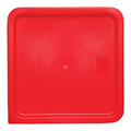 Square PE Lid - Red - Suits 5874 and 5875 (Prev. 5882)