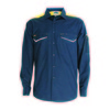 Navy-Safety Yellow