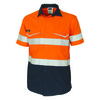 Safety Orange-Navy