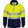 Fluoro Yellow-Navy