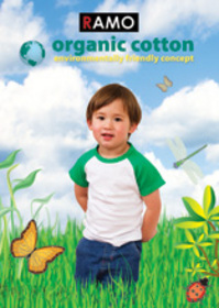 'Ramo' Organic Cotton Baby Raglan Sleeve T-Shirt