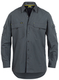 'Bisley Workwear' Mens X Airflow Ripstop Long Sleeve Shirt