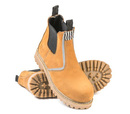 'She Wear' She Will Womens Safety Work Boot  (Pull On Style) - Wheat