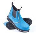 'She Wear' She Will (Original) Womens Safety Work Boot  (Pull On Style) - Blue