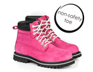 'She Wear' She Works Womens (Non-Safety Toe) Work Boot - Hot Pink