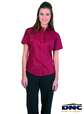 ** CLEARANCE ITEM ** 'DNC' Ladies Premier Poplin Short Sleeve Business Shirt