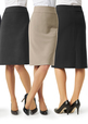 'Biz Collection' Ladies Classic Below Knee Skirt