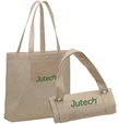 'Stencil' Jute Foldable Bag