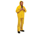 'Prochoice' Yellow PVC Rain Jacket