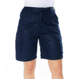 'DNC' Ladies Cotton Drill Cargo Shorts