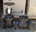 Bore Head Assembly consisting of:  Cast iron flanged gate valve with swing check valve 80mm